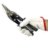 Blaszany snip zdjęcie stock