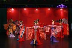 Blaszecznicy dynastii taniec Fotografia Stock