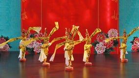 Blaszecznicy dynastii taniec Zdjęcie Stock