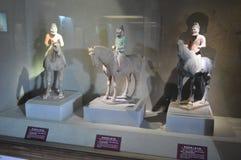 Blaszecznicy Sancai terakoty wojownicy zdjęcia royalty free
