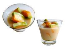 Blaszecznicy Tai kokosowy mleko Fotografia Stock