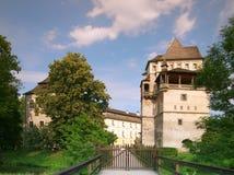 blatna城堡捷克共和国 免版税图库摄影