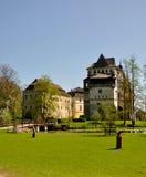 blatna城堡 免版税库存照片