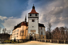 Blatna castle Royalty Free Stock Photos