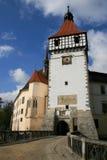 Blatna Castle gate Royalty Free Stock Photo