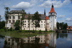 Blatna castle near Pisek Stock Photos