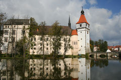 Blatna Water Castle Stock Photography