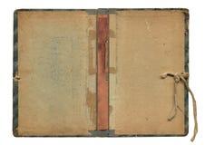 Blatt des alten Buches Lizenzfreies Stockbild