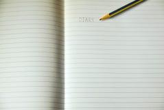 Blatt des gezeichneten Briefpapiers Lizenzfreies Stockbild