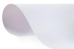 Blatt des strukturierten Papiers Stockbilder