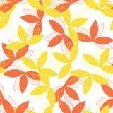 Blatt-Muster Stockbild