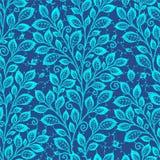 Blatt-nahtloses Muster stock abbildung