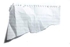Blatt Papier Stockfoto