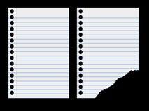 Blatt Papier vektor abbildung