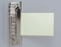 Blatt Papier in der Klippdatei Stockfotografie