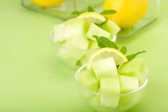 Blatthonig-Melone Lizenzfreies Stockbild