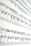 Blattmusik Lizenzfreie Stockbilder