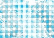 Blau überprüfte Marmorbeschaffenheit Lizenzfreies Stockfoto