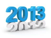 Blau 2013 Stockfotos