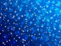 Blau beleuchtet Hintergrund vektor abbildung