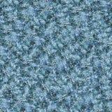 Blau beschmutzte strukturierten Hintergrund Viele multi farbigen Punkte lizenzfreie abbildung