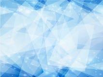Blau bewegt Hintergrund wellenartig Stockfotografie