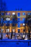 blau Blauer Abend Lizenzfreies Stockbild