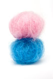 Blau des Schätzchen-Rosa-N Stockfoto