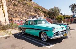 Blau DeSoto 1955 Coronado Stockfotografie