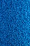 Blau gehämmerter Metallhintergrund, abstrakte metallische Beschaffenheit, Blatt der Metalloberfläche gemalt mit Hammerfarbe stockbild