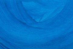 Blau gemalte Hintergrundbeschaffenheit Lizenzfreie Stockfotos