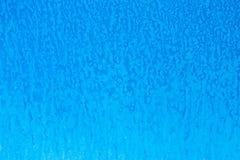 Blau gemalte Wandbeschaffenheit oder -hintergrund Acryl gemalte Wand mit Flecken entziehen Sie Hintergrund Stockbild