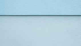 Blau geteilte Wand stockbild
