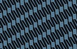 Blau-graue Ineinander greifenabstrakte kunst Lizenzfreie Stockbilder