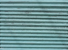 Blau hölzern gemalt Stockfotos