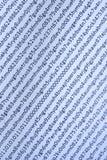 Blau-Leuchte binärer Code Lizenzfreies Stockbild