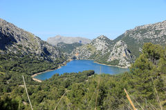 Blau Mallorca van meergeorg Stock Foto's
