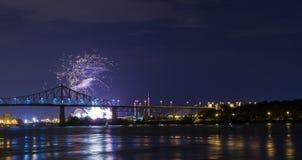 Blau in Montreal Lizenzfreie Stockfotos