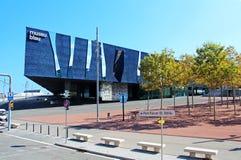 Blau museum i Barcelona (Spanien) Fotografering för Bildbyråer
