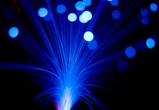 Blau rays Explosion Stockfoto