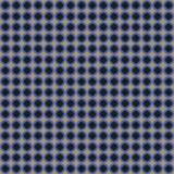 Blau und Biege Kreis-Muster Stockfotografie