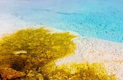 Blau und Gelb Stockfotos