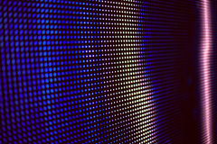 Blau und Rosa farbiger LED-smd Schirm Lizenzfreie Stockfotos