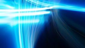 Blau und Teal Echo Light Streaks lizenzfreie abbildung