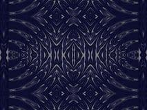 Blau-und Weiß-Design-Muster Lizenzfreie Stockfotos