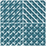 Blau vier Stockfoto