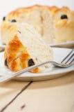 Blaubeerbrot-Kuchennachtisch Lizenzfreies Stockbild