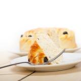 Blaubeerbrot-Kuchennachtisch Lizenzfreies Stockfoto