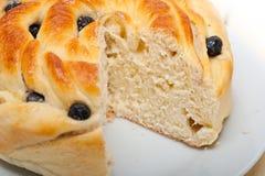 Blaubeerbrot-Kuchennachtisch Lizenzfreie Stockbilder