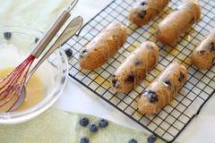 Blaubeere Mini Cakes Lizenzfreie Stockfotografie